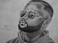 "The Tembisa Visual Artist ""P_Brain"" Draws Cassper Nyovest, Reason, A Reece, Nasty C, Kendrick Lamar and Many More Awesome Rappers Portraits"